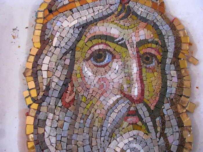 Икона из мозаики своими руками 22