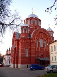 Хотьково, Покровский Хотьков женский монастырь.  Никольский собор.